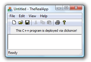 ClickOnce Deployment for Unmanaged Code (C++, VB6, etc