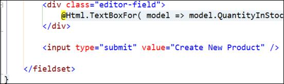 Building ASP.NET MVC Forms with Razor (ASP.NET MVC Foundations ...
