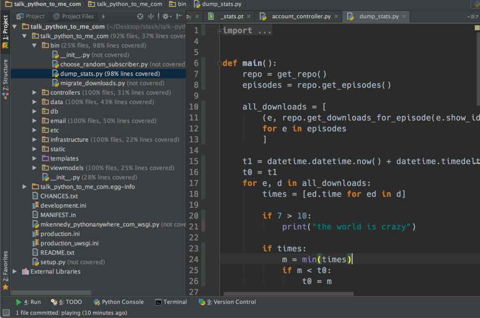 9 reasons you should be using PyCharm – Michael Kennedy on
